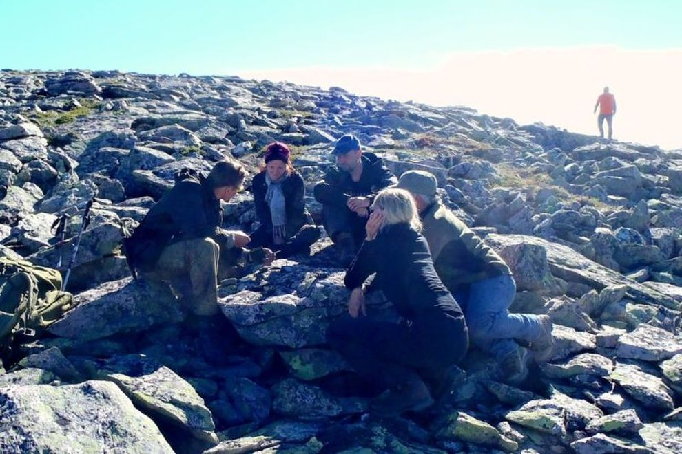 Professional-Training in Norway's Wilderness (picture)