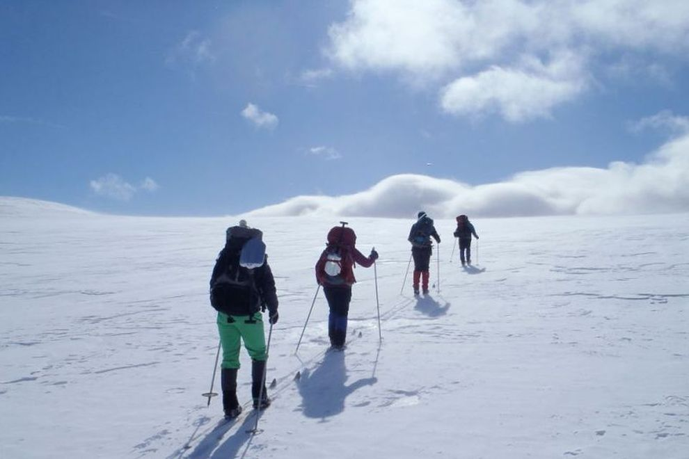 VILLMARKSREISER: Fjellskivandring i Forollhogna (bilde)