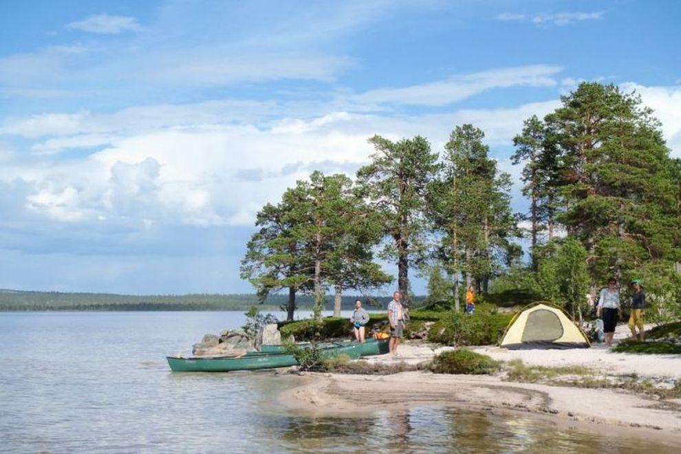 Kano vandring: villmarksliv – villmarksopplevelser (bilde)