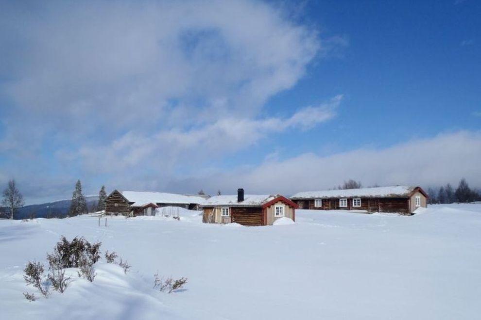 Skitour: Hüttenunterkunft in einer Almhütte (Bild)