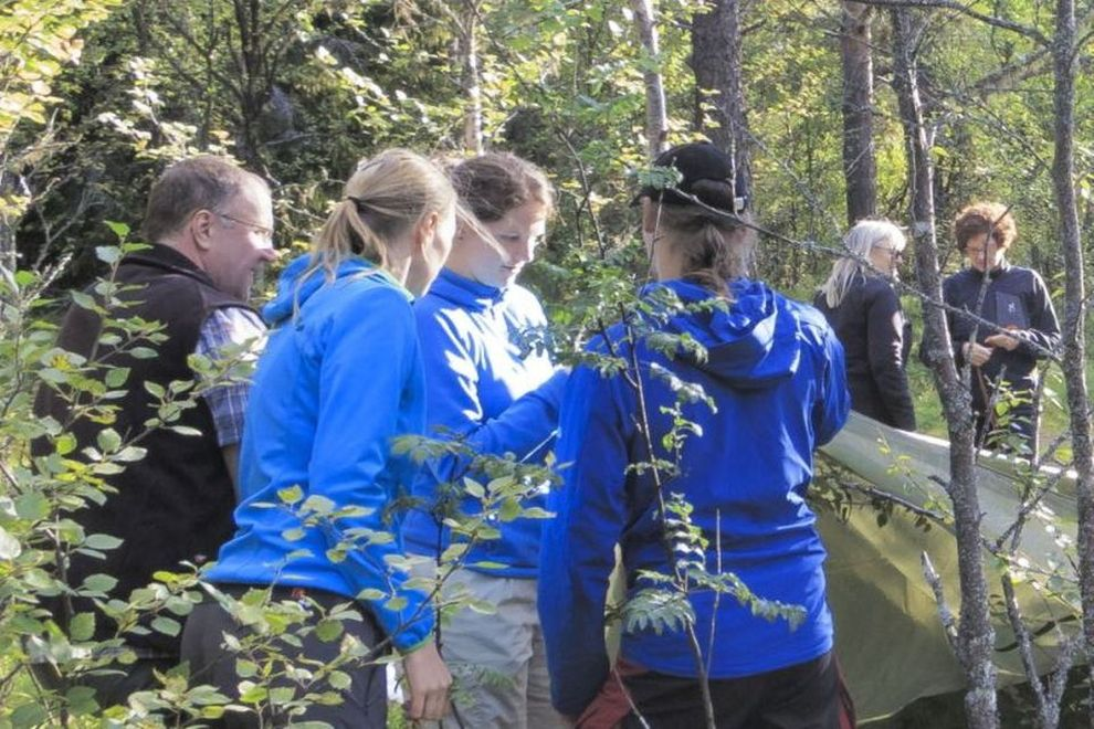 Cours dans la nature sauvage: camp en Norvège et Suède (photo)