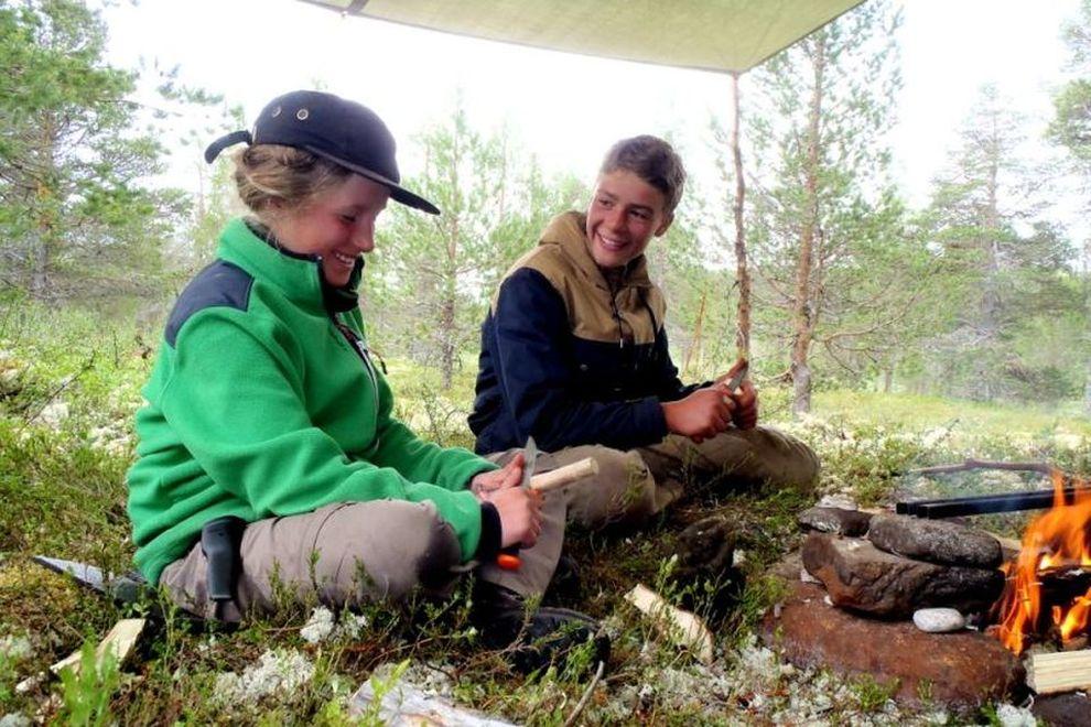 Villmarkstrening: skreddersydde villmarkskurs i Nord-Østerdalen