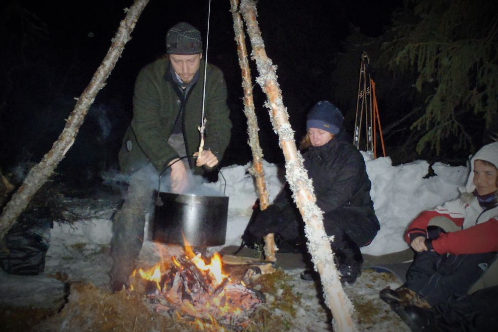 Nordic Winter Wilderness Camp (picture) / Winter Wildnis Camp (Bild)