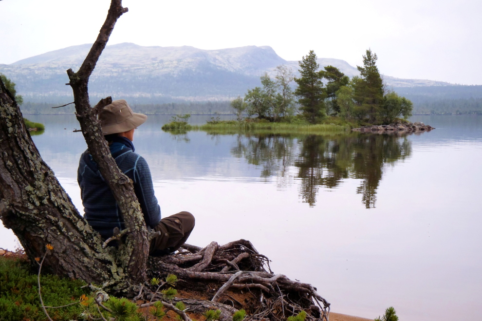 Kanuwandern-Wildnis-Norwegen (Bild)