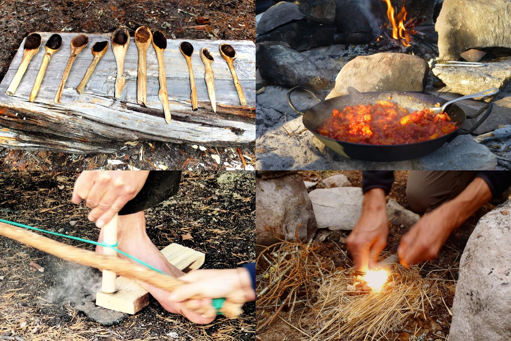 Wilderness course: wilderness living skills - bushcraft (picture)